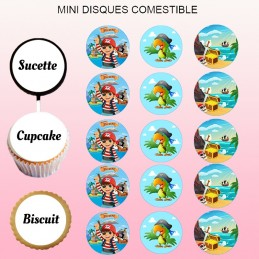 mini disque sucre pirate