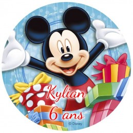 disque alimentaire mickey
