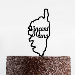 Cake topper Corse