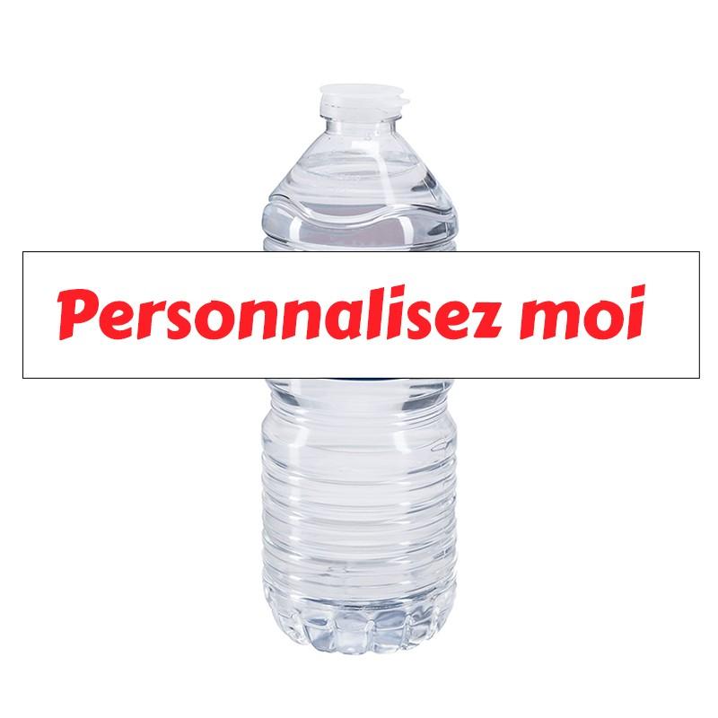 etiquette bouteille eau personnalisee