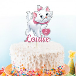 cake topper marie aristochat