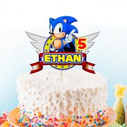 Cake topper Sonic