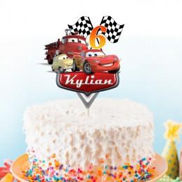 cake topper car's