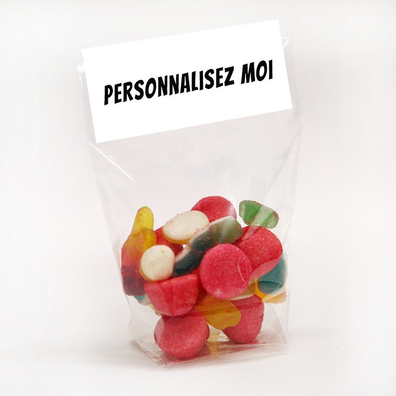 sachet bonbon personnalise