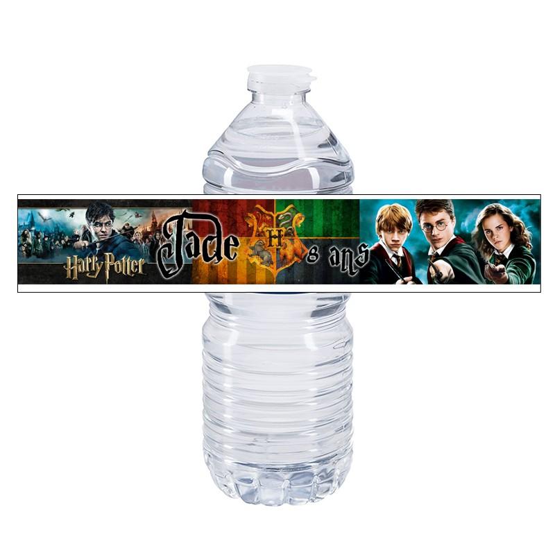 etiquette bouteille eau harry potter