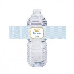 Étiquette bouteille d'eau...