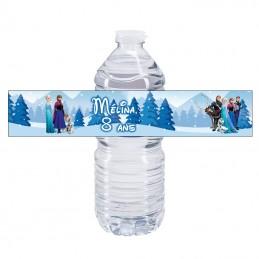 bouteille d'eau reine des neiges