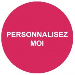 etiquette personnalisées