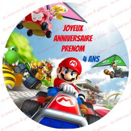 Étiquettes autocollantes Mario