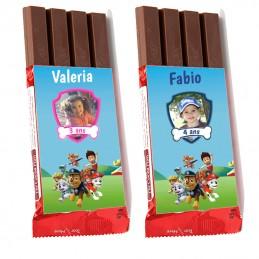 mini chocolat pat patrouille