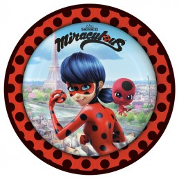 assiette miraculous ladybug