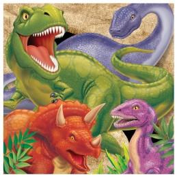 serviette papier dinosaure