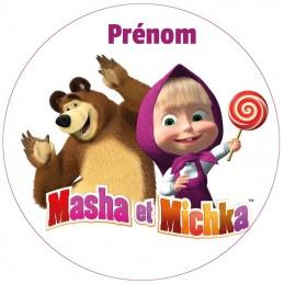 disque alimentaire masha et michka