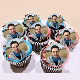 disque alimentaire cupcake personnalise