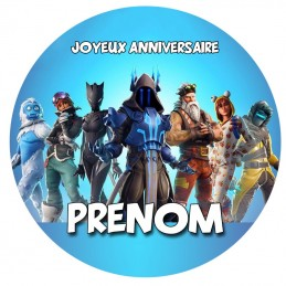 disque sucre personnalise fornite