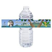 Étiquette bouteille d'eau 50 cl